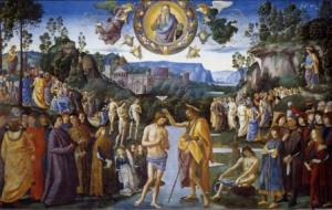 Perugino, Battesimo di Gesù