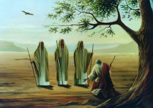 Abramo ed i tre angeli